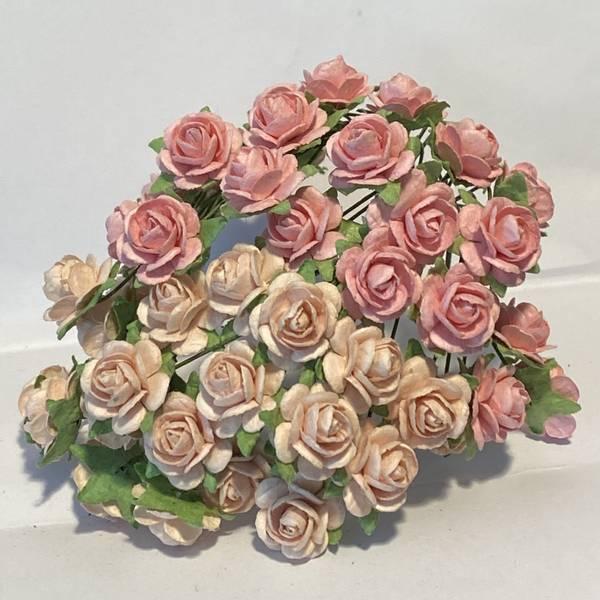 Nr 212 Roser 1,2 Lys varm rosa