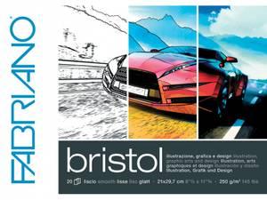 Bilde av Fabriano Bristol 250g A4 - 20