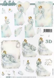 Bilde av 3D ark - Brudepar