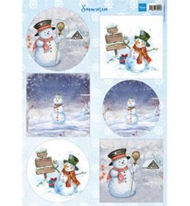 Bilde av Marianne Design 9569 Snowmen